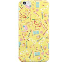 Sailor Moon Power Items Collage iPhone Case/Skin