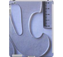 Drafting Shapes and Angles iPad Case/Skin