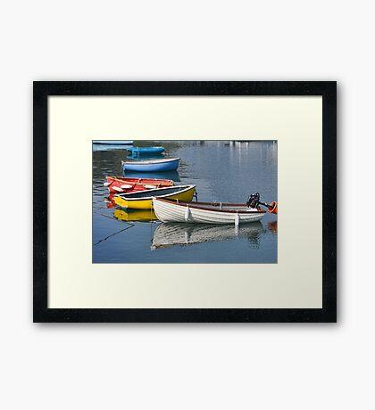 Lyme Regis Harbour, Lyme, Dorset UK Framed Print