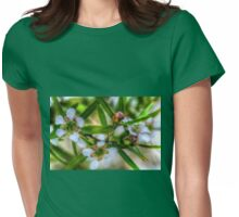 Lemon Scented Tea Tree. Womens Fitted T-Shirt