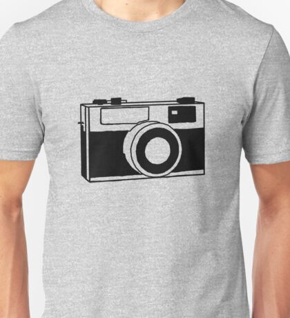 35mm camera (black) Unisex T-Shirt