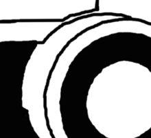 35mm camera (black) Sticker