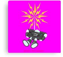 """8 Bit Buzz Bot v2.0.2 """"GearRoid"""" Canvas Print"""