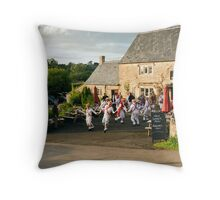 On a warm evening in May Throw Pillow
