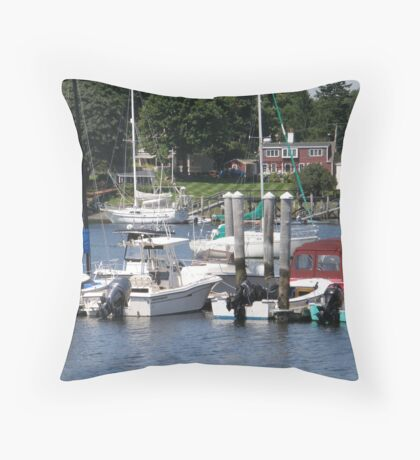 Park Here! Throw Pillow
