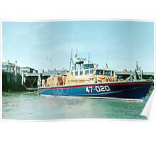 Tyne Class Lifeboat  47-020 Poster