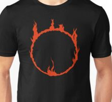 Dark Sign - Red  Unisex T-Shirt