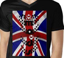 U.K. Mods  001.PNG Mens V-Neck T-Shirt