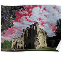Wenlock Priory, Much Wenlock Poster