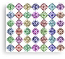 Color Abstract Circle Canvas Print