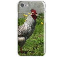 Rooster in Flowers iPhone Case/Skin