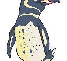 Galapagos Penguin by jmerlino