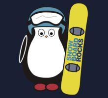 Hugo snowboarding Kids Tee