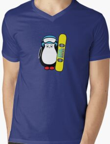 Hugo snowboarding Mens V-Neck T-Shirt