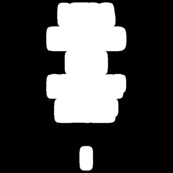 Nerd (White Text) by hynek
