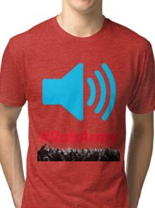 Volume Speaker With RobARMY Tri-blend T-Shirt