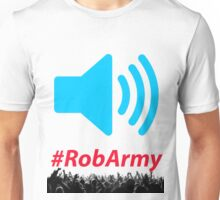 Volume Speaker With RobARMY Unisex T-Shirt