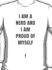 Nerd (Black Text) T-Shirt