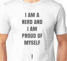 Nerd (Black Text) Unisex T-Shirt