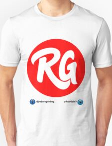 RG Logo Original Red With Social Links  T-Shirt