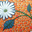 256 - FLORAL DESIGN - 04 - DAVE EDWARDS - ACRYLIC & INK - 2009 by BLYTHART