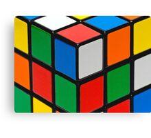 Colourful Cubes Canvas Print