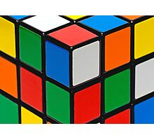 Colourful Cubes Photographic Print