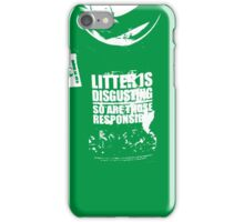{ Irish litter is disgusting } iPhone Case/Skin