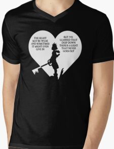 Kingdom hearts sora quote Mens V-Neck T-Shirt