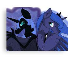 Princess Luna & Nightmare Moon Canvas Print
