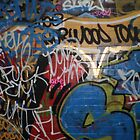 Leake Street Tagging by runjoerun