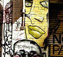 Melbourne Graffiti - Hosier Lane II by Louise Fahy