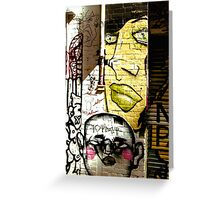 Melbourne Graffiti - Hosier Lane II Greeting Card