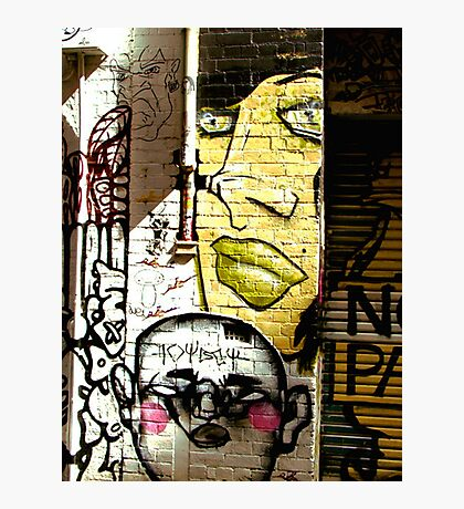 Melbourne Graffiti - Hosier Lane II Photographic Print