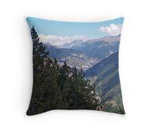 Valls d'Andorra 3 Throw Pillow