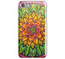 rainforest mandala iPhone Case/Skin