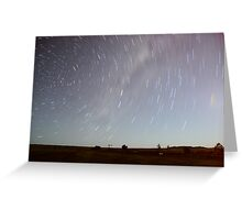 WINTON STARTRAILS Greeting Card