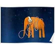 Elephant for Elisa Poster