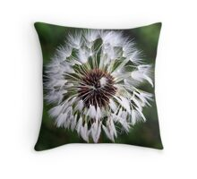 Dandelion (In a Peebles Garden!) Throw Pillow