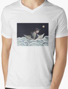 The Pirate Ship Mens V-Neck T-Shirt