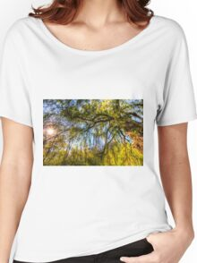 The Pond Side Trees Women's Relaxed Fit T-Shirt