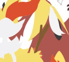 Fennekin Evolution Sticker