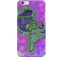 Zombie Screen Print iPhone Case/Skin