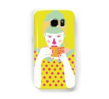 a cup of tea a day Samsung Galaxy Case/Skin