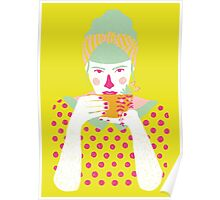 a cup of tea a day Poster