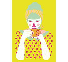 a cup of tea a day Photographic Print