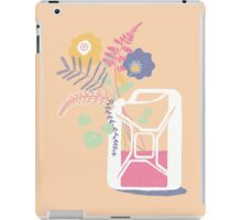 floral fuel iPad Case/Skin