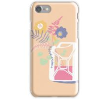 floral fuel iPhone Case/Skin