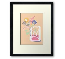 floral fuel Framed Print