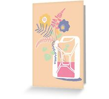 floral fuel Greeting Card